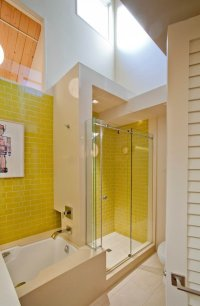 Retro bathroom concept idea