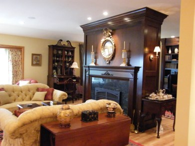 Eloquent-Tradition living room remodel
