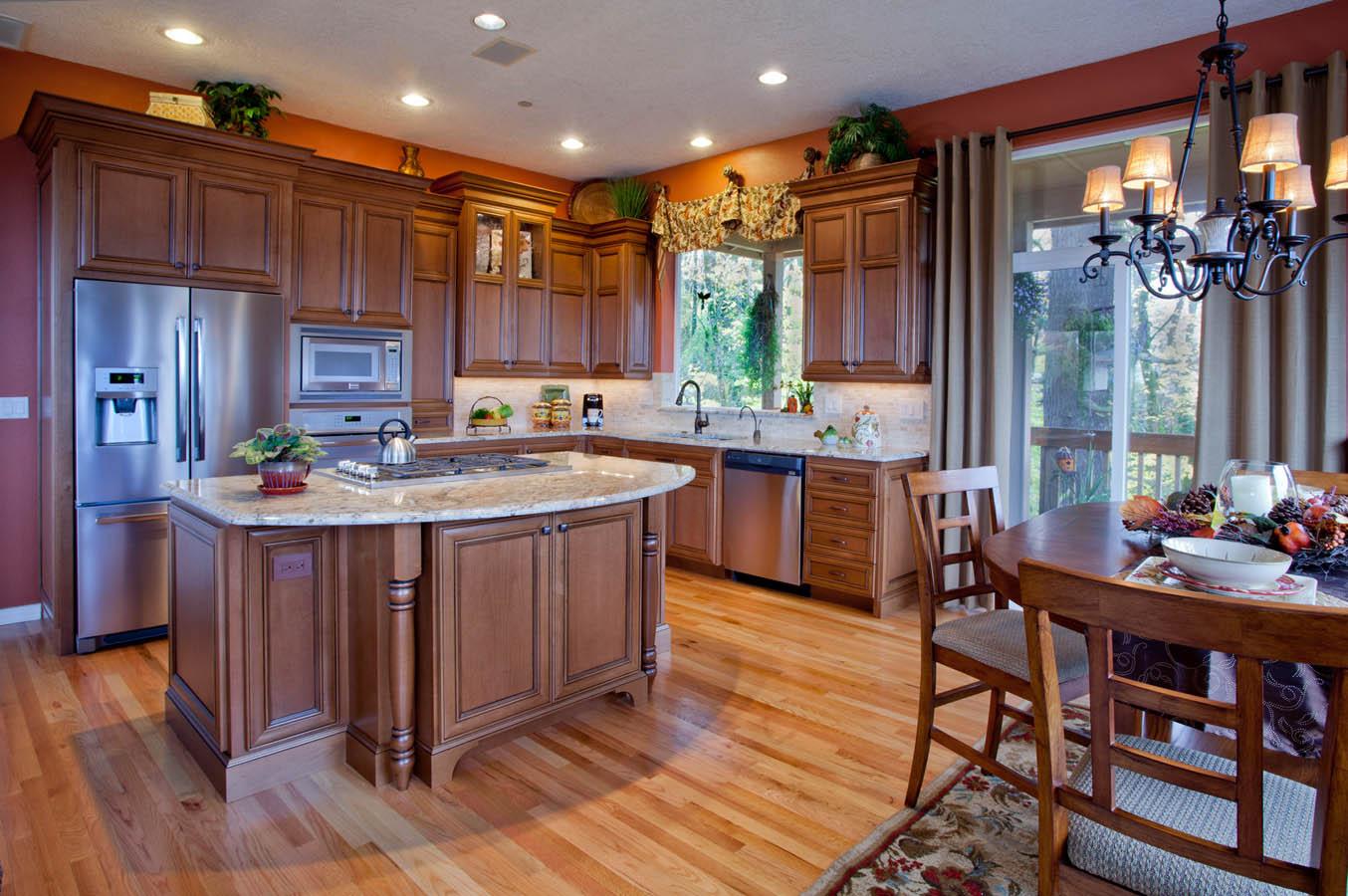 Northwest-Modern total kitchen remodel