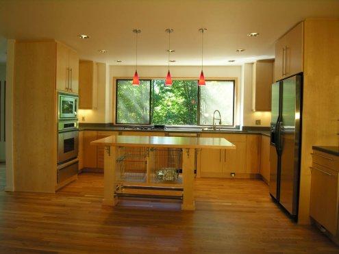 Northwest-Modern total kitchen makeover