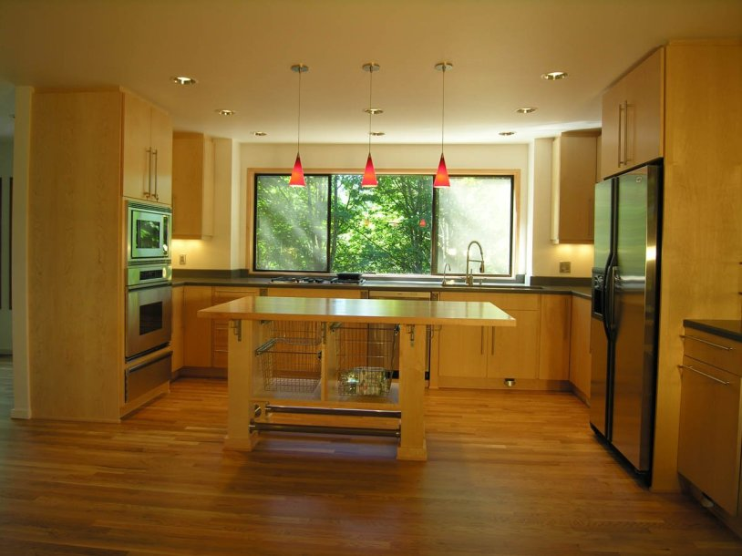 Northwest-Modern total kitchen makeover