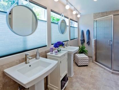 Modern-Transitional vanity remodel