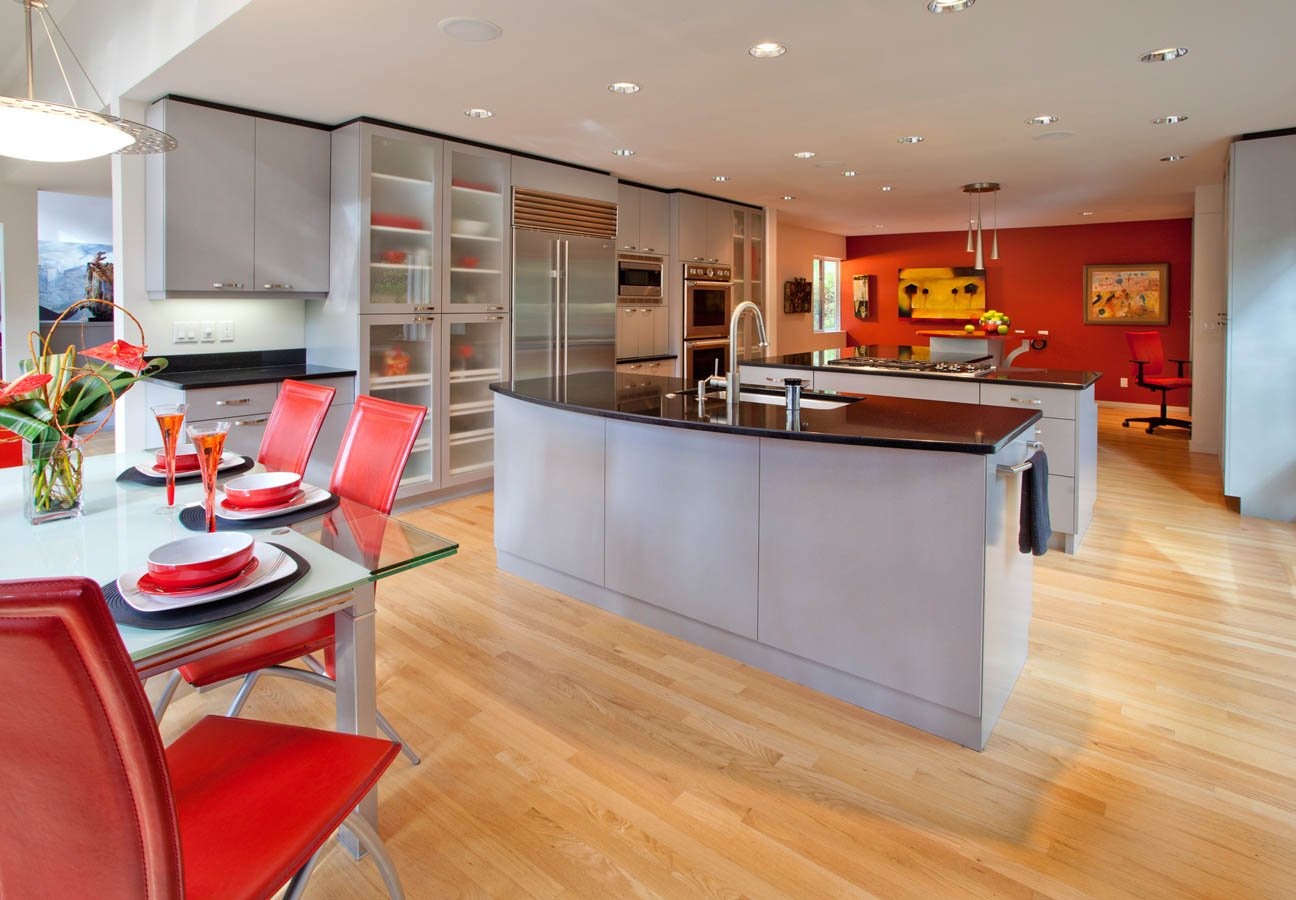 Ubo-Contemporary total kitchen makeover