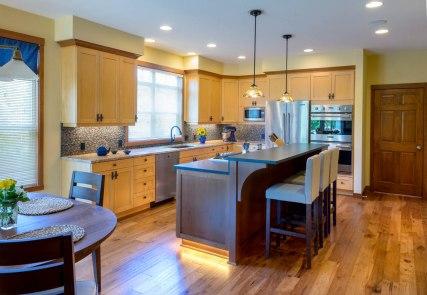 E_Craftsman whole kitchen remodel