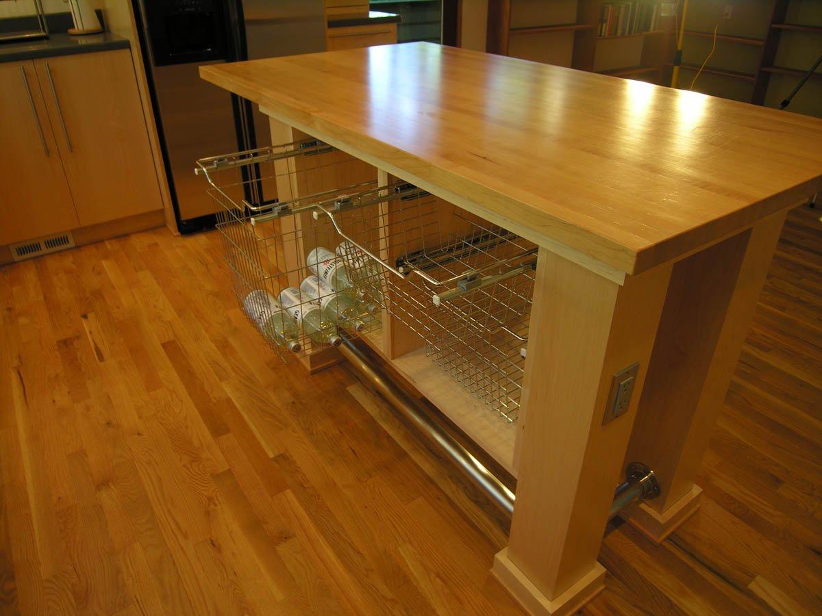 Northwest-Modern island kitchen