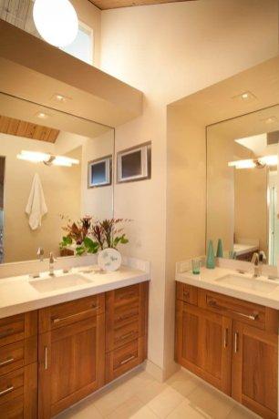 Retro double vanity