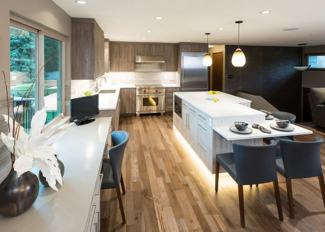 Contemporary Kitchen style in Portland, OR