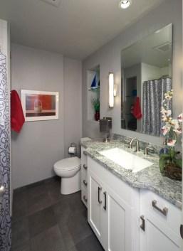 Transitional bathroom concept