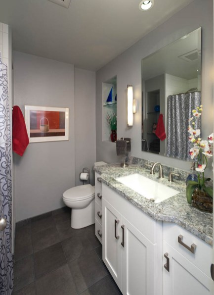 Transitional bathroom concept