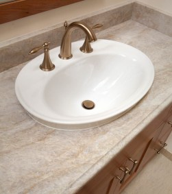 Classic-Italianate vanity sink