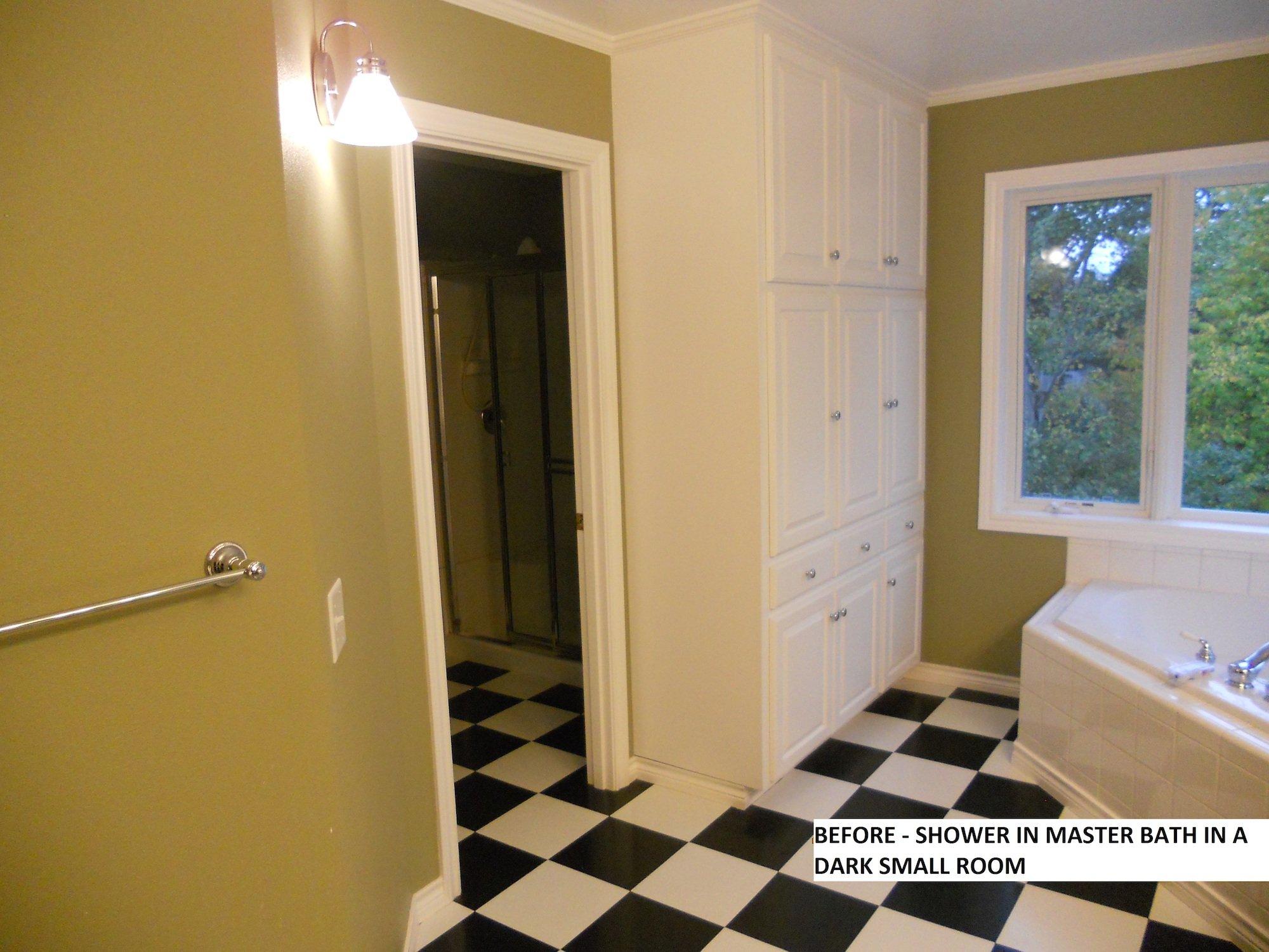 Hartung Farm Master Bathroom Remodel Before & After - L.Evans Design ...