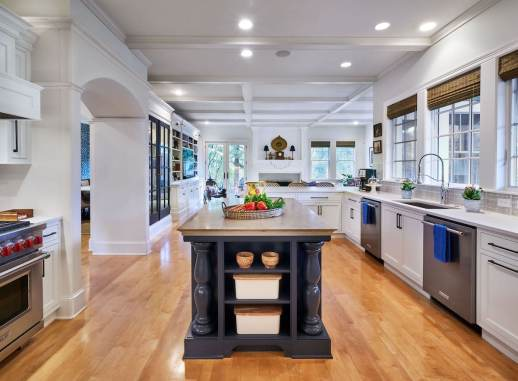 open concept kitchen remodel in portland