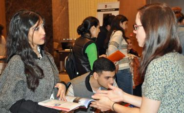 """Such a successful event. We were very happy with the fair and received very high quality enquiries. Well done! Looking forward to future events."" Noomi Weinberg, Kings College London (Baku Autumn 2014)"