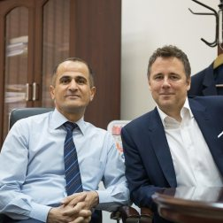 Maqsood Mohamed, David Mitchell, KRG Ministry of Higher Education