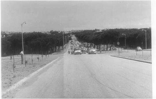Airport road 1958