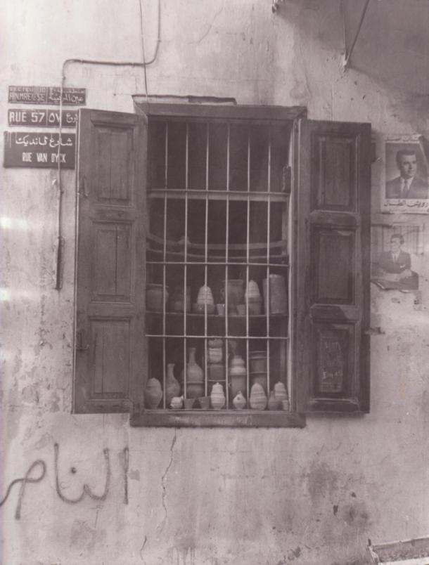 Old Beirut window - original scan