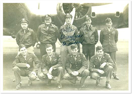 Dad with B17 crew