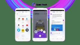 Opera Touch — мобильный браузер, оптимизированный для управления одной рукой