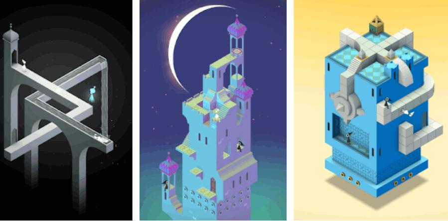 Лучшая головоломка Monument Valley временно бесплатно на Android
