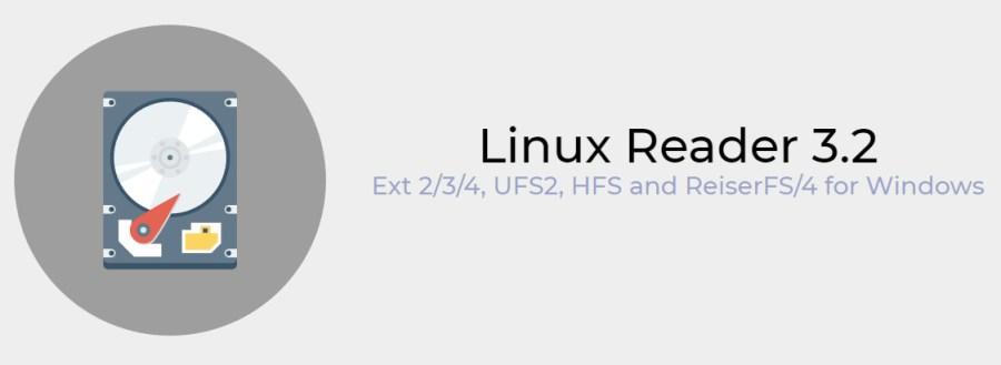 Чтение файловых систем Linux в Windows с помощью программы Linux Reader