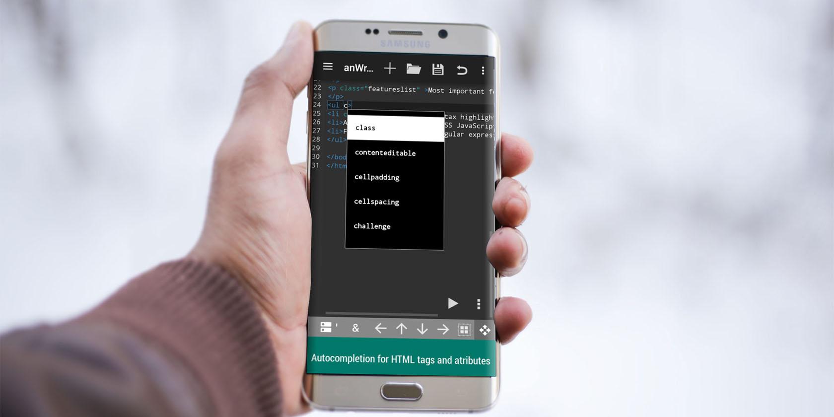 7 лучших редакторов HTML для Android