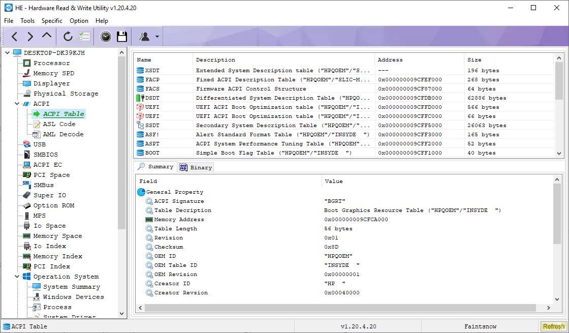 HE – Hardware Read & Write Utility — продвинутый инструмент системной диагностики для Windows