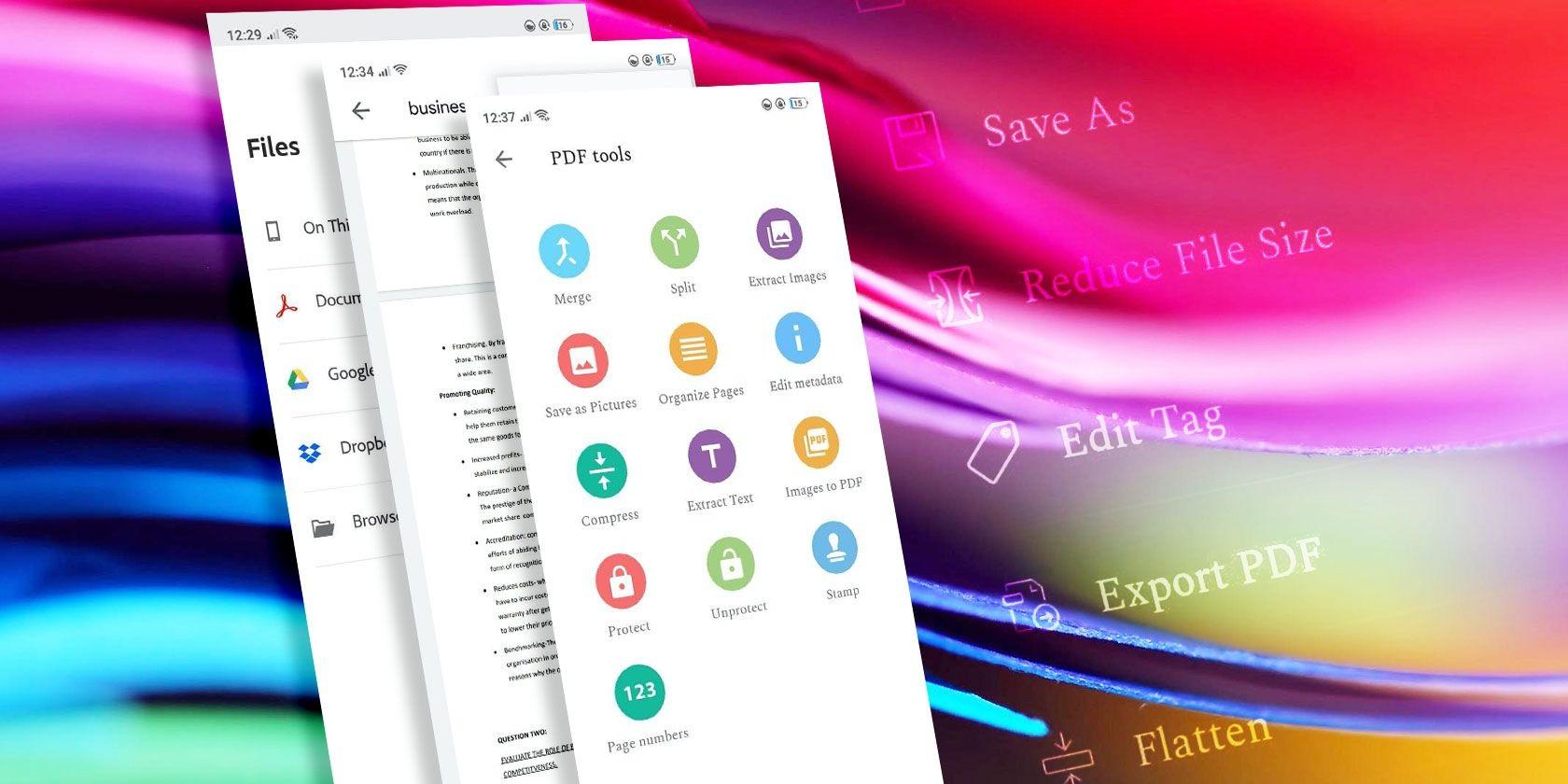 5 лучших приложений для чтения PDF-файлов для Android