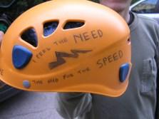 Perica's helmet, personalized for those carefree days. Photo: D. Koljnrekaj