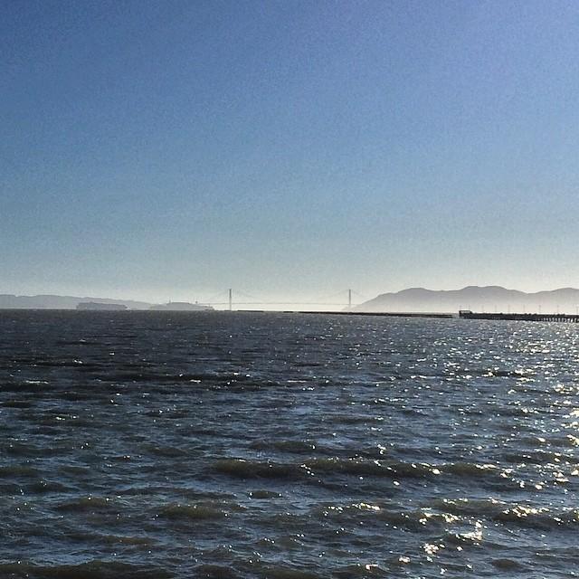 Golden Gate in horizon #goldengate #sflife #sf