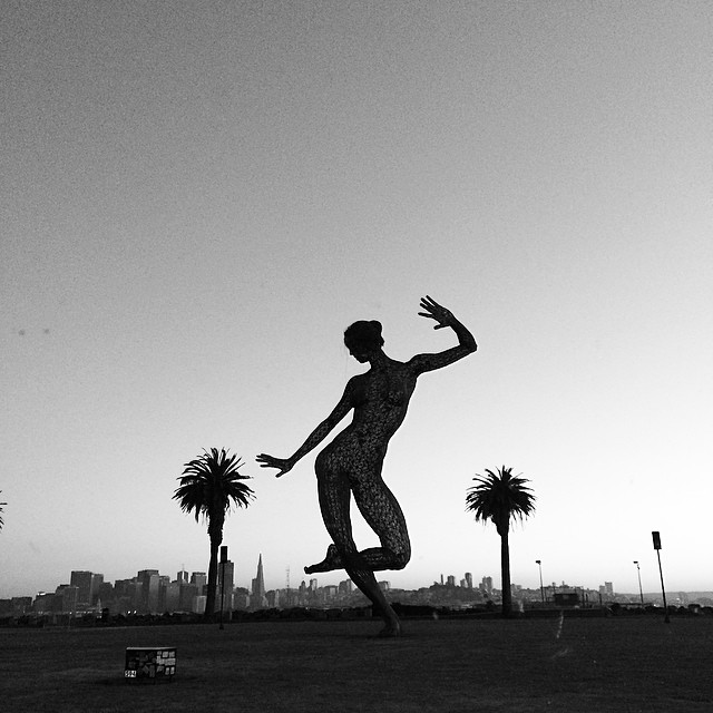 The Dancing Lady #trasureisland #sf