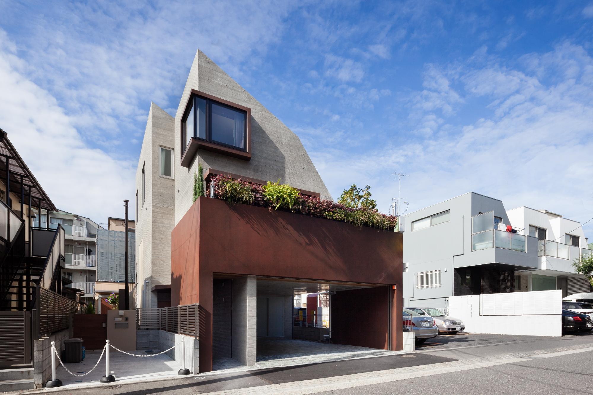 上大崎の住宅