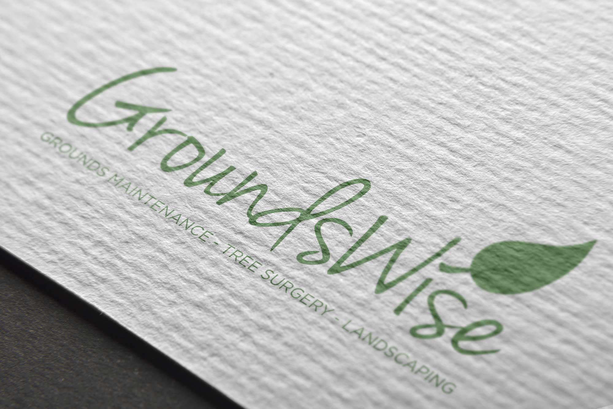 groundswise landscaping company logo