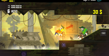 Guacamelee enemy toss