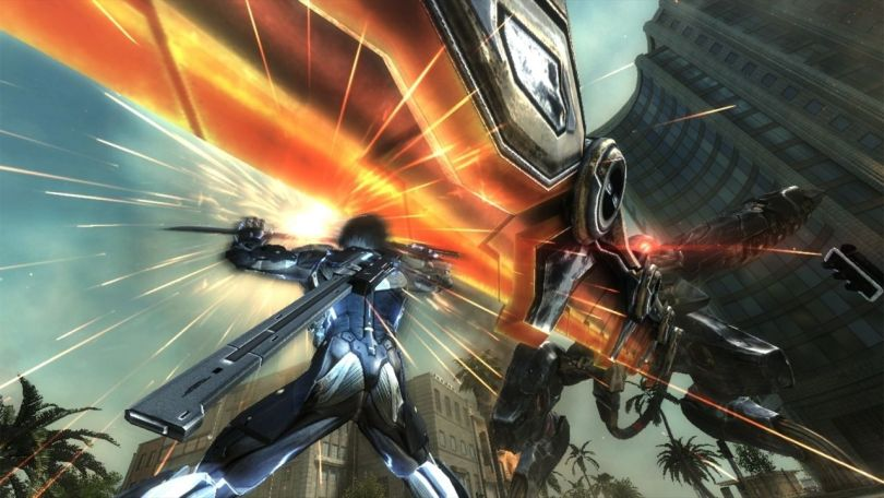 metal gear rising reveangance metal gear ray fight