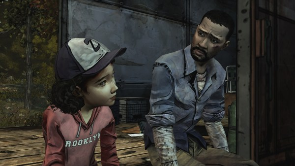 Your relationship with Clementine is one of the driving forces in the Walking Dead game.