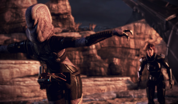 This scene from Mass Effect 3 really pulls on the heart strings.