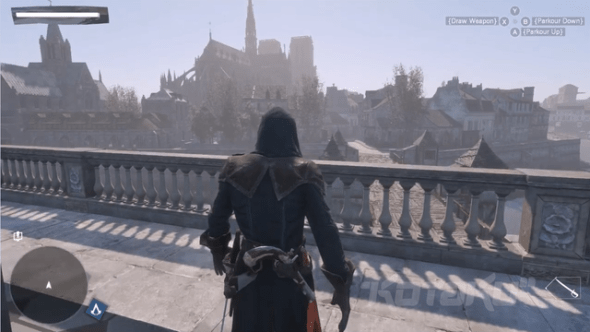 No matter what, you'll always see yourself as Arno when you play online in Unity.