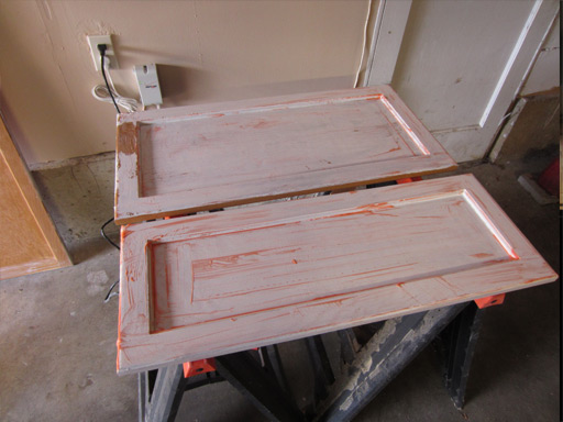 Preparing Kitchen Cabinets for Painting Stripping and