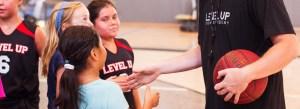 Level Up Girls basketball commitment to sportsmanship