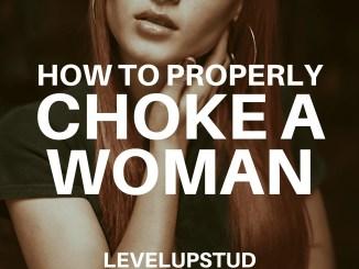 properly sex choke woman