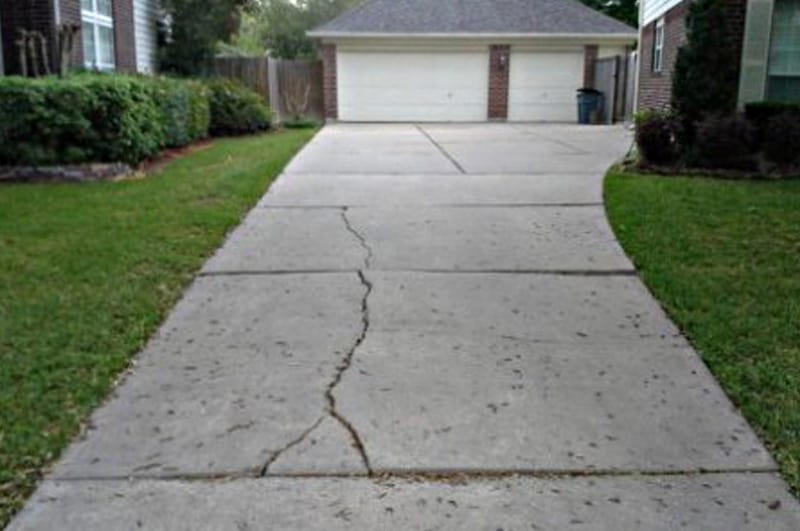 Cracked Driveway Repairs