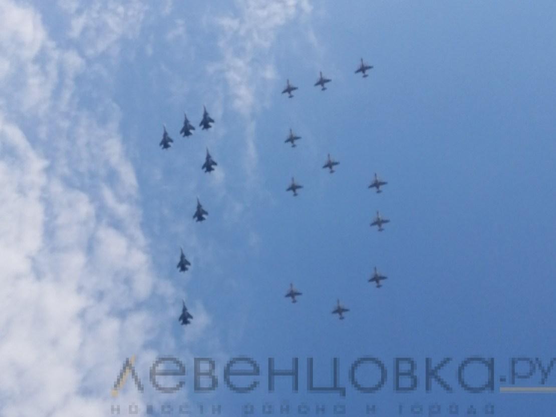 Парад Победы в Ростове