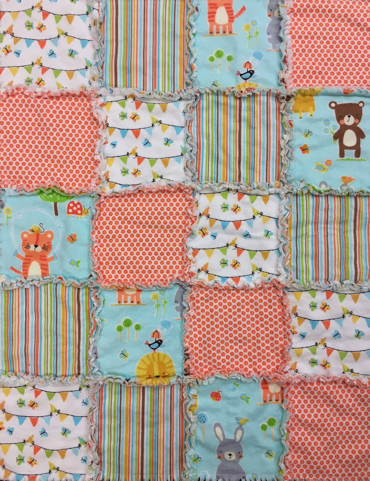 Patchwork Baby Blanket Kit