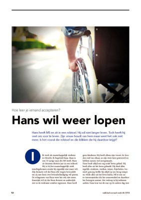 Vakblad VWS interview levend verlies