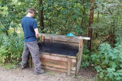 Opsamle af urinens næringsstoffer i 'black earth' til forbedring af humuslaget.