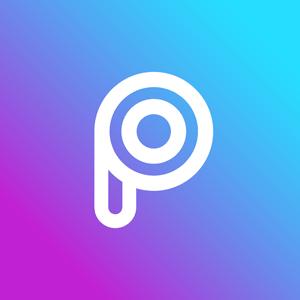 Aplicaciones para editar imágenes: logo de Picsart