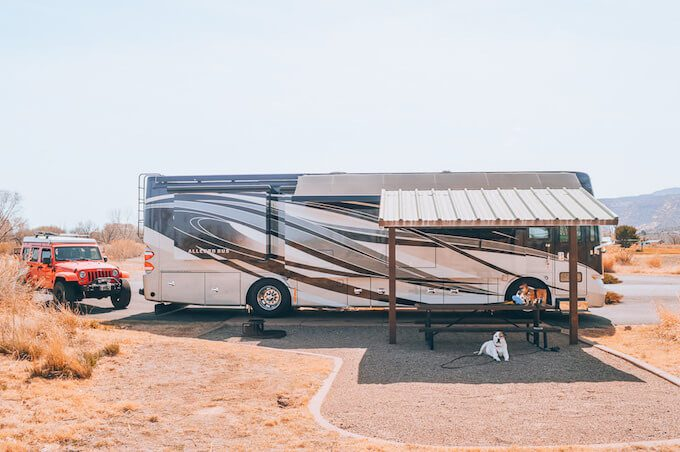 Michelle Schroeder-Gardner's RV. The Leveraged Mama.