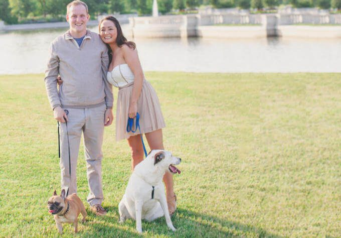 Michelle Schroeder-Gardner's, Wes Gardner and their dogs. The Leveraged Mama.