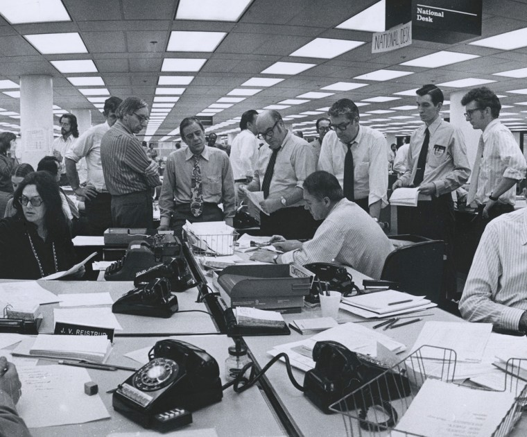 Newsroom Bull Pen