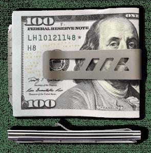 Lever Gear Money Clip